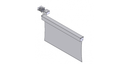 Projector Screen Assembly
